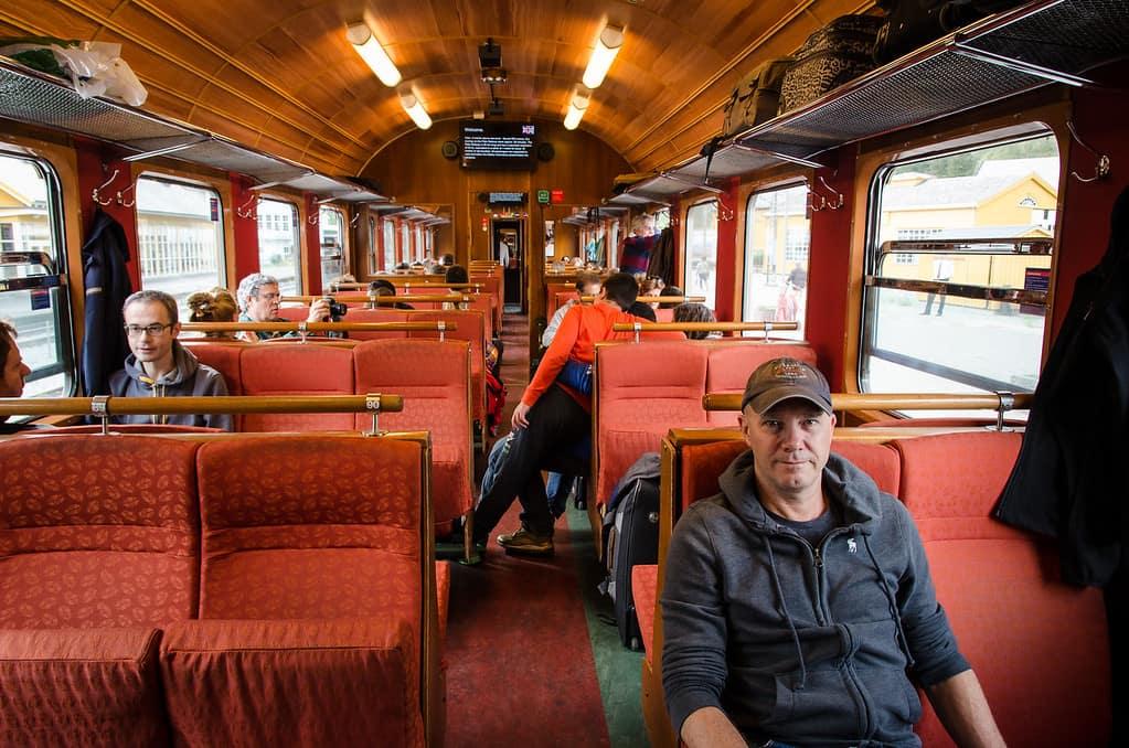 Interni Flamsbana Treno Norvegia