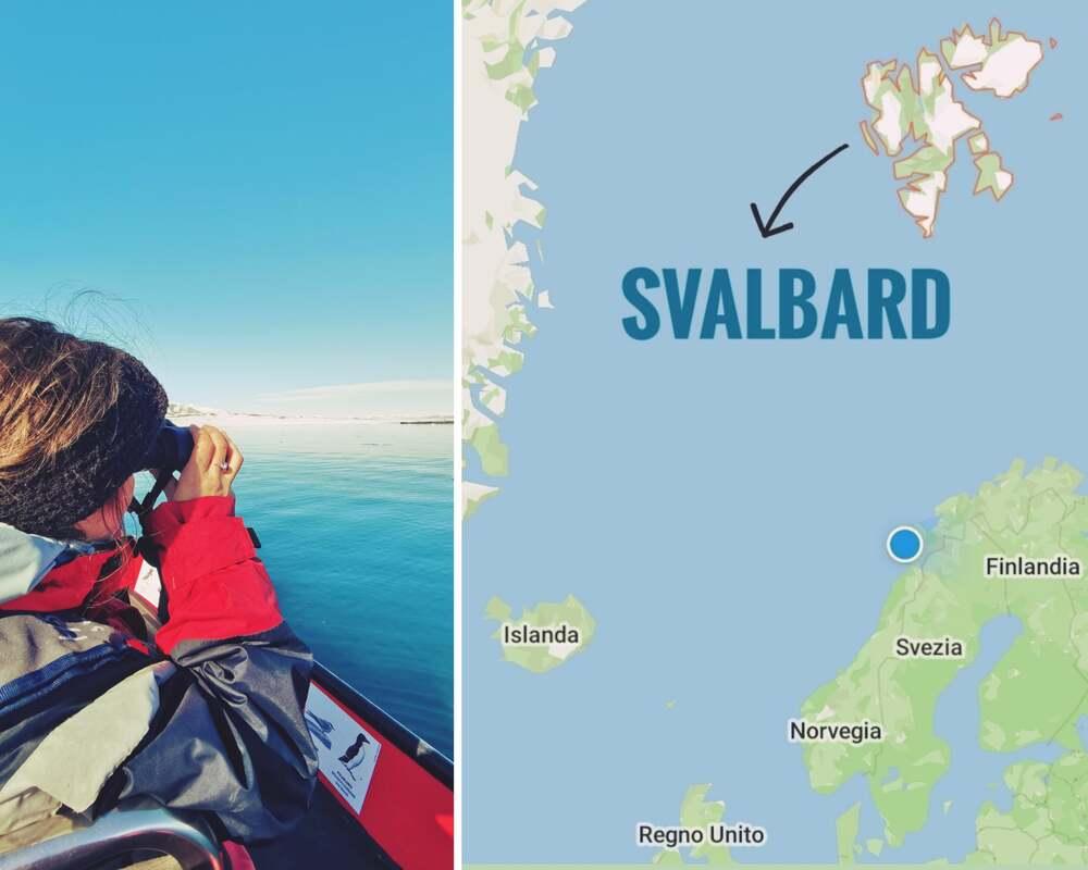 Dove sono le Svalbard, Norvegia