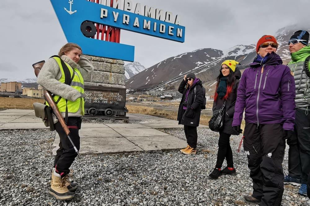 Pyramiden città russa abbandonata in Norvegia, Svalbard