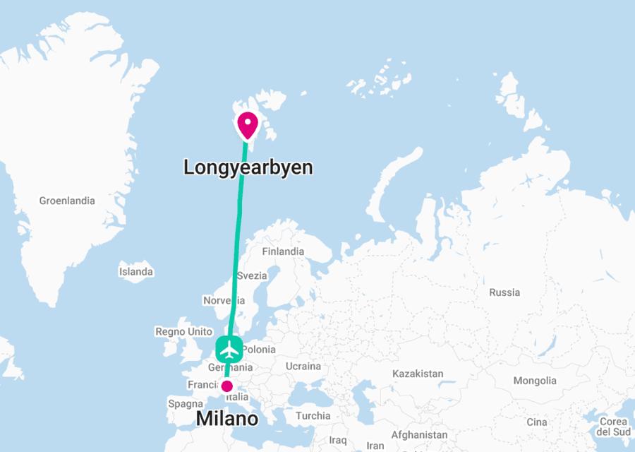 Come andare alle Svalbard