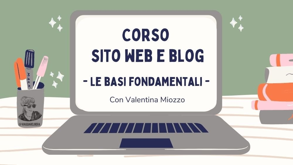 Corso sito e blog wordpress